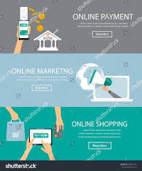 online marketing shopping payment infographics element stock