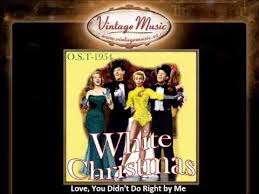 peegy lee love you didn u0027t do right by me white christmas
