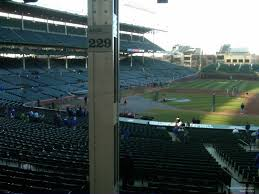 Chicago Cubs Seat Map by Wrigley Field Section 229 Chicago Cubs Rateyourseats Com