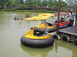 Lake Toys For Adults | laser combat bumper boat adults and children playing in the park s