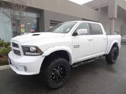 white dodge truck ram 1500 ram 1500