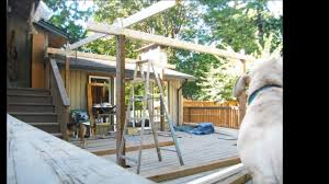 How To Build A Detached Patio Cover by Corrugated Polycarbonate Roof Deck Cover Pacific Northwest