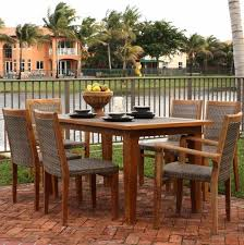 Patio Table Wood Blogs Teak And Brazilian Cherry Bring Many Advantages Perfect