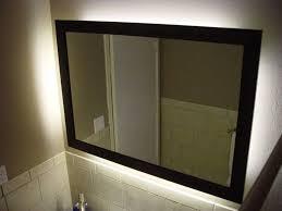 Backlit Mirrors Bathroom Backlit Mirrors For Bathroom Wall Franyanez Photo Backlit