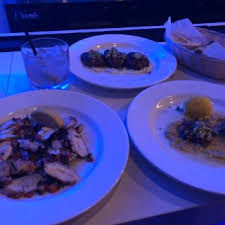Seeking Branzino Song Mykonos Blue Restaurant New York Ny Opentable
