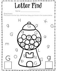 cute letter find worksheets with a freebie printable letters