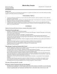 Resume Manager Sample District Manager Resume Objective Resume Management Objective