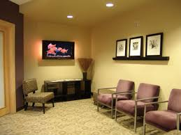 Home Office   Comfortable Reception Small Dental Office Interior - Dental office interior design ideas