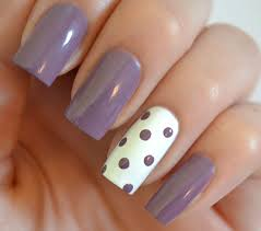 starfish on the beach 31 day nail art challenge day 6 violet