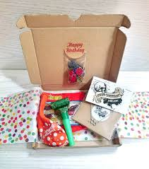 party in a box birthday box gift wrapped goodie bag party in a box for