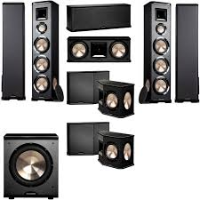 home theater systems amazon com amazon com bic acoustech pl 980 7 1 home theater system new pl