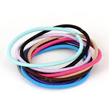 hair rubber bands monogramme color will be random candy color design rubber band