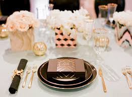 Gold Table Setting by Practical Wedding Advice From Top San Francisco Wedding Planner
