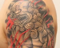 pictures of foo dogs 45 menacing foo dog tattoos to protect you