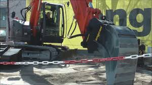 hitachi zaxis 85 usr excavator live demo youtube
