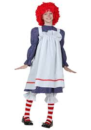child rag doll costume