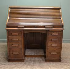 roll top desk tambour antique roll top desk antiques world