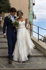 amazing a line strapless sweetheart floor length chiffon wedding