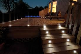 White Patio Lights by Led Light Design Sophisticated Deck Led Lights For Outdoor Deck