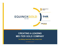 Seeking Newcastle Trek Mining Newcastle Gold And Anfield Gold Anckf Announces