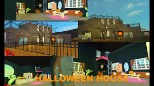 how to build a halloween themed house in welcome to bloxburg
