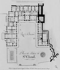 plans du château rez de chaussee ground floor floor plans