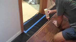 Laminate Flooring Underlay Installation How To Install Laminate Flooring Underlayment Pad Flooring