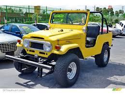 yellow toyota 1976 yellow toyota land cruiser fj40 100365217 gtcarlot com