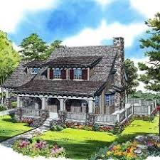 Small Cottage Plans With Porches Small Cottage House Plan With Indoor Outdoor Fireplace And Wrap
