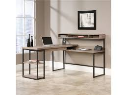 Office Desk With Hutch L Shaped by Home Office Sleek L Shaped Home Computer Desk With Hutch Below