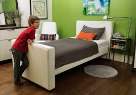 Twin Beds For Kids by Dorma Upholstered Modern Twin Bed With Trundle By Monte Design