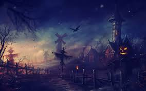 halloween background anime anime village images reverse search