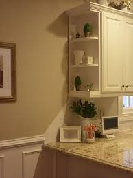 cabinet ends ideas shelving on cabinet ends tuscan kitchen kitchen