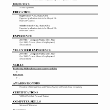 resume format for word resume template slet for fresh graduates single page word