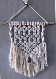 Wall Tapestry Hippie Bedroom Modern Macrame Wall Hanging Bohemian Hippie Decor Bamboo And
