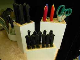 last minute holiday gift idea and bamboo knife block kitchen