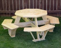 Wooden Hexagon Picnic Table Plans by Exteriors Garden Table Plans Free Heavy Duty Picnic Table Plans