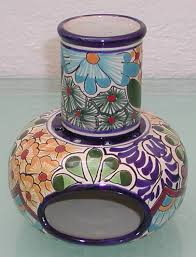Handmade Mexican Pottery - colorful mosaic chimanea search awesome decor pieces