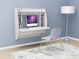 Alternative Desk Ideas Desk Design Alternative With Floating Shape Decor And White Wooden