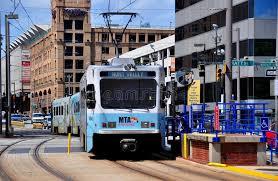 light rail baltimore md baltimore md mta light rail train editorial photo image of