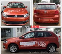 volkswagen polo red fiat punto evo vs volkswagen polo diesel compare review