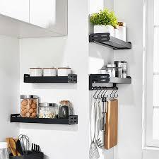 wall mounted kitchen storage cupboards black stainless aluminum wall mount kitchen storage spice