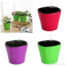 Self Watering 2017 13 8hq Self Watering Planter Automatic Irrigation Flowerpot