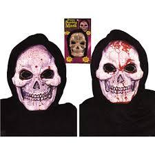 halloween skeleton mask skull mask dripping and bleeding masks