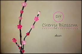 cherry blossom decor a kaleidoscopic diy cherry blossom decor