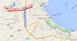 Palermo Italy Map by Palermo Tram Finally Opens On 30th Of December 2015 Distrita