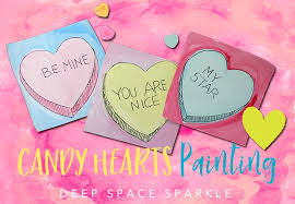 valentines day candy hearts candy hearts s day project space sparkle