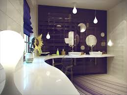 Gold Bathroom Decor by Purple Bathroom Decor Best Home Interior And Architecture Design