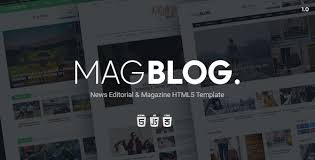 newspaper theme html5 magblog news editorial magazine html5 template by infinyteam