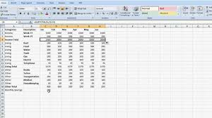 How To Complete A Spreadsheet Household How To Make A Spreadsheet Budget Spreadshet How To